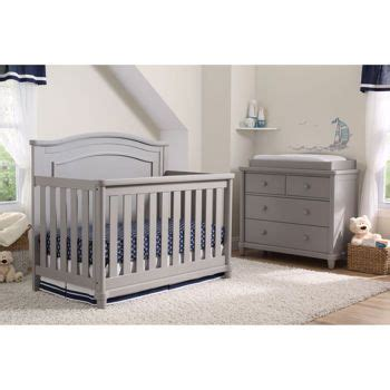 Costco Crib Set by Convertible Crib Kid And Gray On