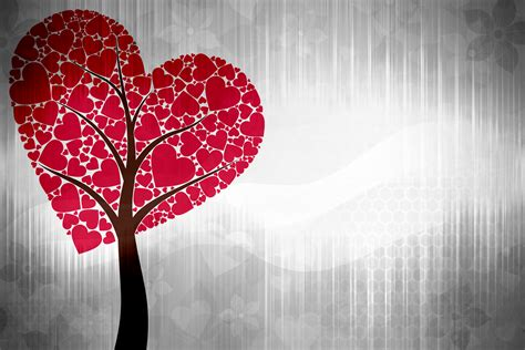 images of love tree heart to heart to heart