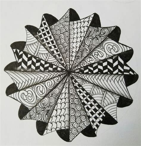 pattern mandala drawing 850 best zentangles images on pinterest doodles
