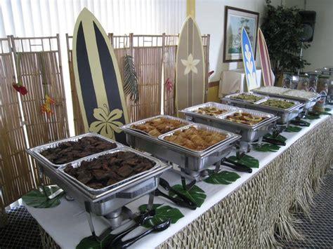 deco buffet table wedding luau buffet table deco yelp