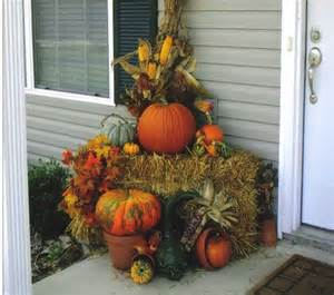 Fall Decorations With Corn Stalks - a place in the sun april 2011