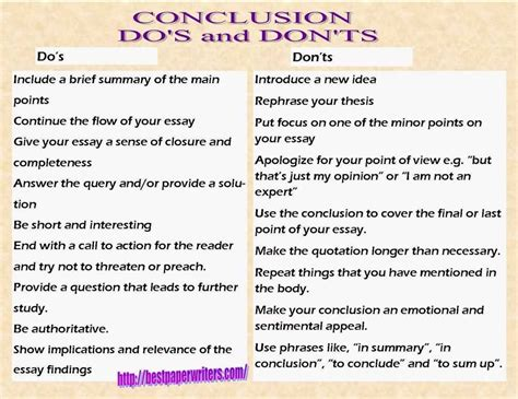 Write Conclusion Essay Exles by Essay Conclusion Exles Source