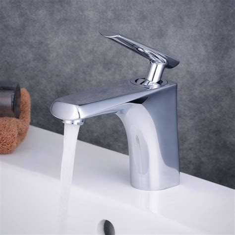 waterfall bathroom sink faucet contemporary centerset waterfall ceramic valve one single handle one chrome bathroom