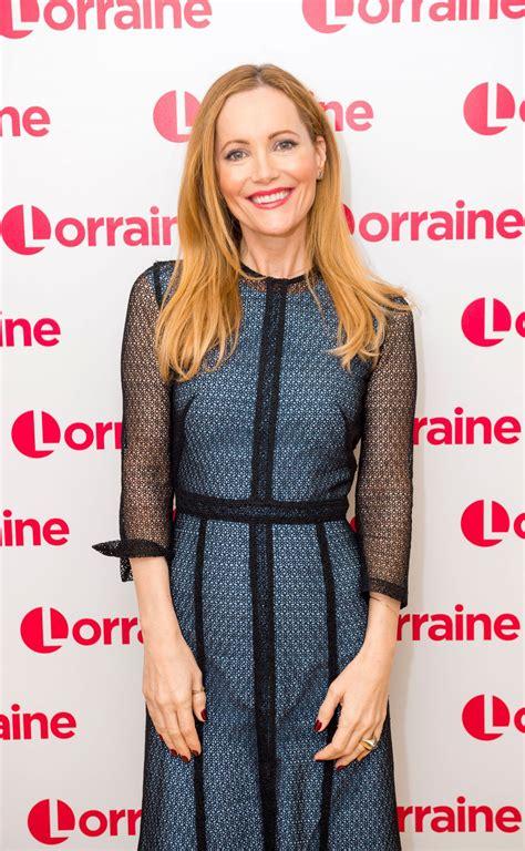 leslie mann tv leslie mann appeared on lorraine tv show in london 03 20 2018