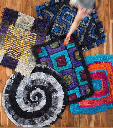 how to knit a rug with fabric s tangle knitting fabric rugs