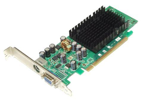 Vga Card Nvidia Pci Express leadtek lr2a13 nvidia geforce 6200se tc pci e 64mb vga graphics card grafikkarte