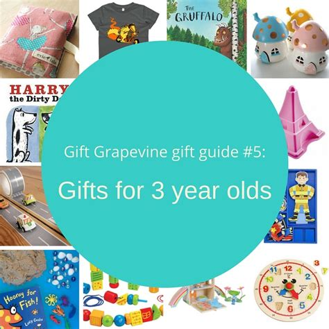 gifts for 3 year olds gift grapevine gift guide 5 gifts for 3 year olds