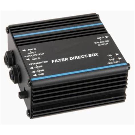 Proel Direct 100p Passive Direct Injection Box passive filter direct injection box