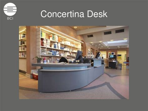 concertina counter system concertina desk system the modern library circulation