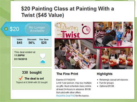 paint with a twist midtown the painting lounge groupon defendbigbird