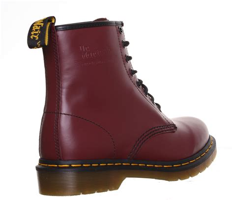 dr martens 8 eyelet 1460 smooth womens work safety boots