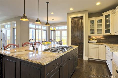kitchen remodel ideas pictures pictures of kitchens traditional two tone kitchen