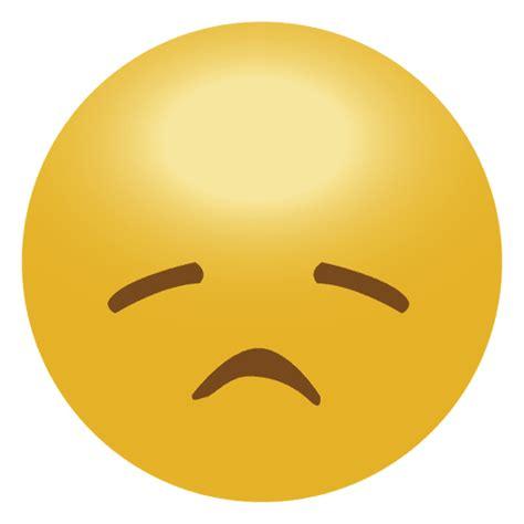 emoticon de emoji triste amarillo descargar pngsvg