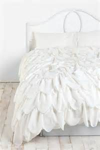 ruffle duvet cover stitched scallop ruffle duvet cover outfitters