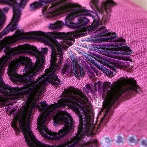 Embroidery Design On Velvet | pfaff victorian thread velvet