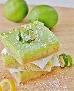 lemon lime bars bar farms and recipe