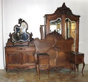 Louis Xv Bedroom Furniture Exquisite Antique Carved Walnut Louis Xv Bedroom Set