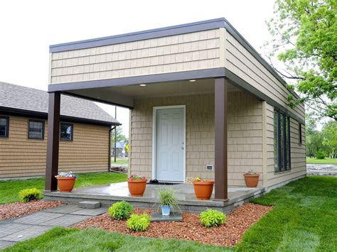 tiny home michigan detroit tiny home neighborhood lets the homeless rent to