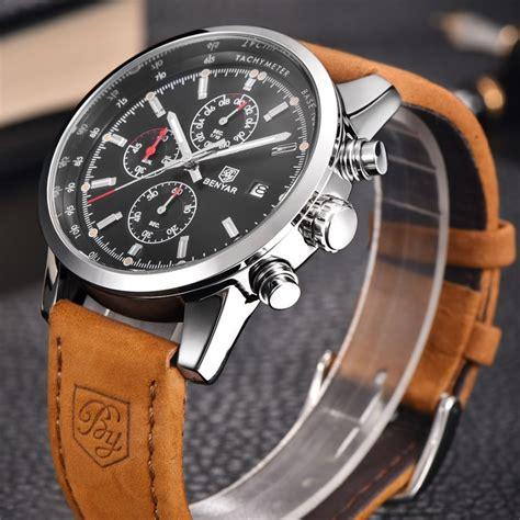 Best Seller Promo Jam Qq Qnq Qq Qq Gw81 Gw81j001y Hitam Black Origi 1 aliexpress buy reloj hombre 2016 benyar fashion chronograph sport mens watches top brand