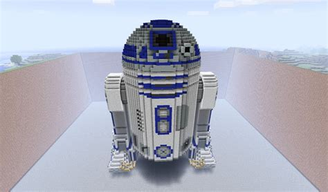 Small Home Blueprints R2 D2 Minecraft Project