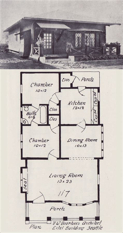 bungalow floor plans historic small bungalow cottage plans small bungalow house floor