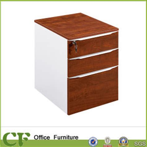 Movable Drawers China Movable 3 Drawers Pedestal With Lock Cf S89904