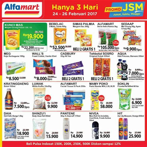 Minyak Goreng 1 Liter Di Alfamart promo jsm alfamart minggu ini 24 26 februari 2017