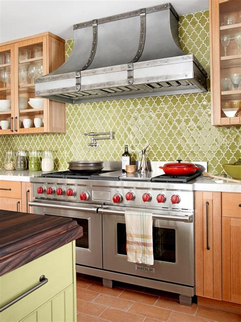 images of backsplash for kitchens dreamy kitchen backsplashes hgtv