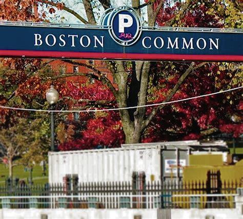 Boston Common Garage Prices by Parkonect