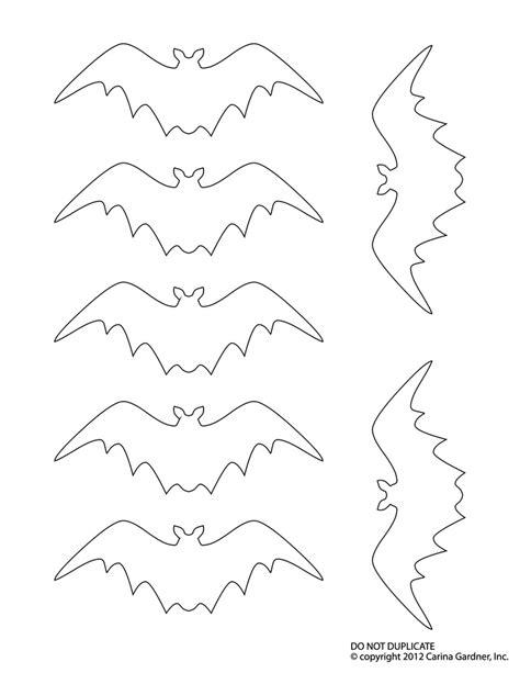 template for bats bat outline template az coloring pages