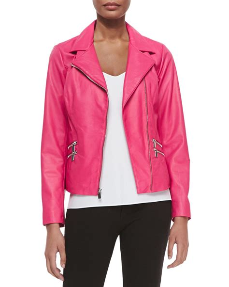 pink motorcycle jacket real housewives of beverly hills season 7 episode 1 fashion