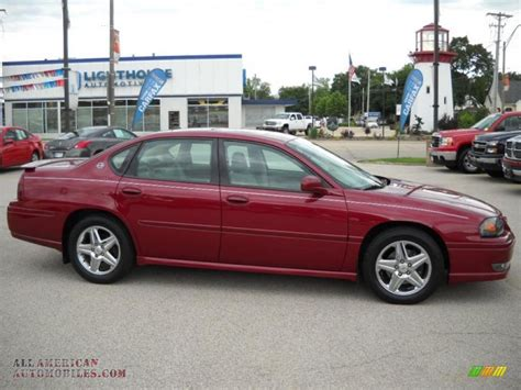 how make cars 2005 chevrolet impala parental controls 2005 chevrolet impala ss supercharged in sport red metallic 235152 all american automobiles