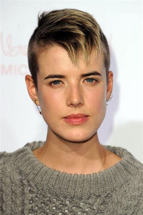 edgy celebrity hairstyles 10 images about short hairstyles on pinterest very