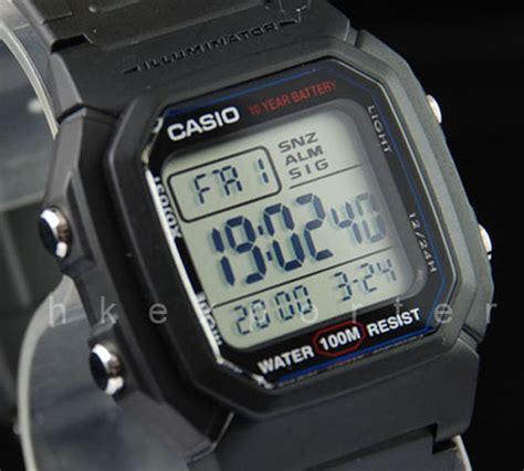 Casio Original W 800h casio digital w 800h 1a w 800h 1a golden8ts