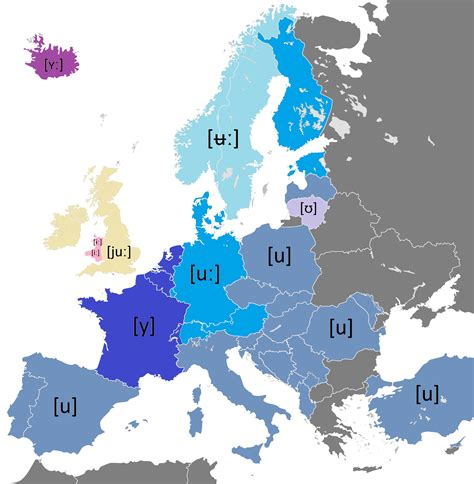 Pronunciation Letter U pronunciation of the name of the letter u in european