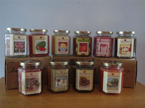 Home Interiors Candle by Home Interiors Candle In A Jar Retired Scents Paraffin