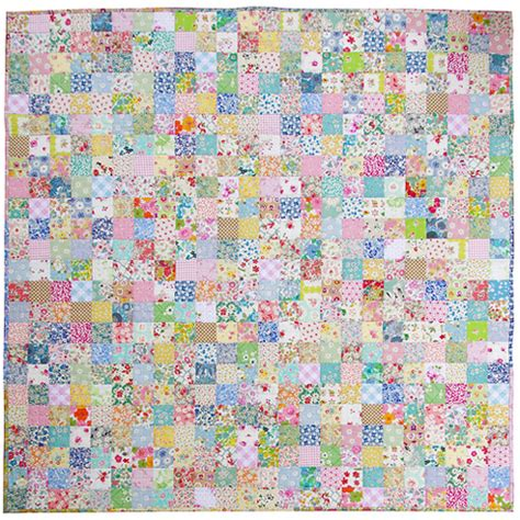 Patchwork Quilt Fabric - pepper quilts scrappy liberty patchwork quilt