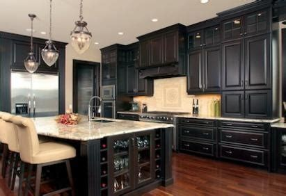 dark kitchen cabinets with light countertops love the dark cabinets and light countertops kitchen