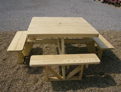 square picnic table with 4 square picnic table loccie better homes gardens ideas