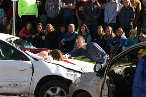 Student Background Check Mock Crash Photo Gallery Is Dhj
