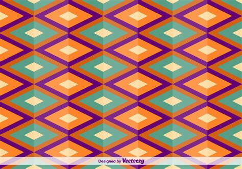 pattern square vector geometric square oriental vector pattern download free