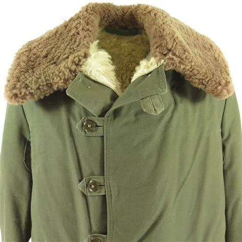 Jaket Parka Pria Hrcn Unknown Army Green H 2027 Bahan Baby Canvas vintage 30s swedish m 1909 overcoat mens 40