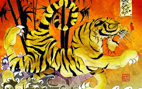 tiger tattoo hd wallpaper ukiyo3 com a modern approach to ukiyo e art