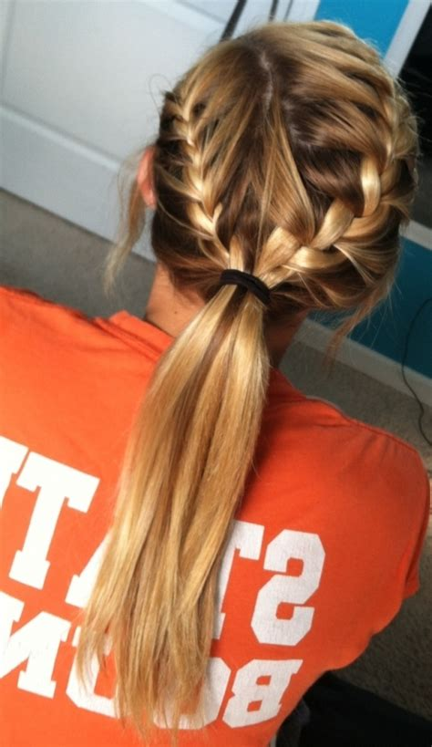 hairstyles for volleyball games cute volleyball hairstyles hairstyle ideas magazine