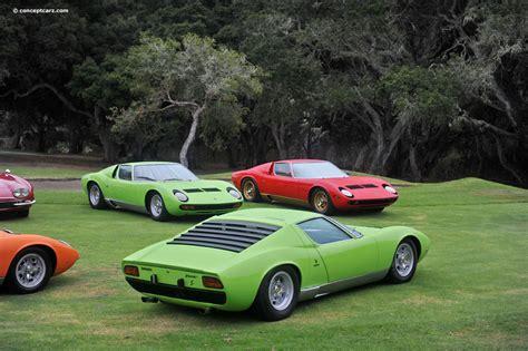 70s Lamborghini 1970 Lamborghini Miura P400s Image Chassis Number 3685
