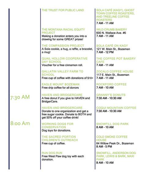 give big gallatin valley event schedule