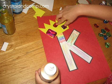 Old King Cole Nursery Rhyme by Alphabet Activities For Preschoolers K Is For King