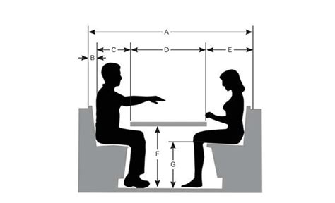 restaurant booth design guidelines booth dimensions a total booth width 66 quot 84 quot b seat back