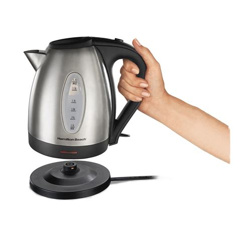Sa Idealife Automatic Electric Kettle 2 Cups Included Il 100n hamilton 40882e stainless steel 7 2 cup kettle electric kettles kitchen dining