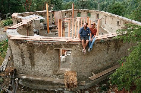 Build My Own House All About Cob A Sculptural Natural Building Material
